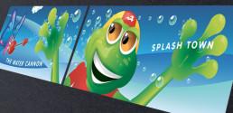 Aquatic Centre Signage design