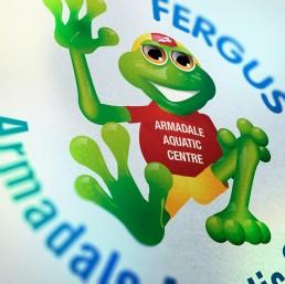 Fergus the Frog - Character Design