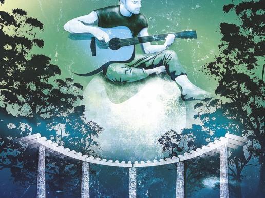 Araluen Blues Concert Poster